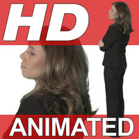 High Definition Animated People Textures - HD Dana Business