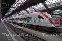 SBB INTER-CITY HIGH SPEED TRAIN HAUPT BAHN-HOFF A14