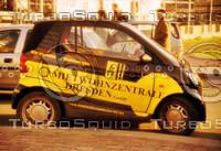 SMART CAR IN DRESDEN
