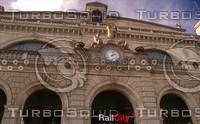 ZURICH HAUPT BAHN-HOFF RAIL CITY