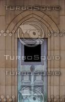 Bronze crypt door texture