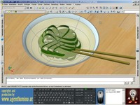 Noodle Soup in AutoCAD 2007 by Agent Lumino.wmv