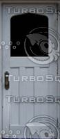 Grey gothic door texture