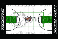 Tiger Basketball Floor Layout