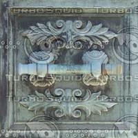 Bronze door pull texture