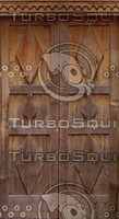 Geometric Wood door texture