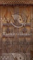 Geometric Wood door texture