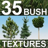 35 Bush Textures - Vol. 1