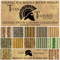 Ancient Stone Column Collection