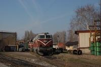 Old Diesel Locomotive
