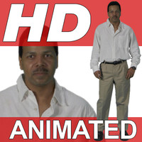 High Definition Animated People Textures - HD Charles Casual