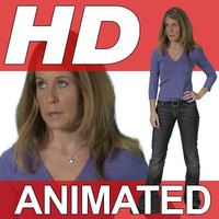 High Definition Animated People Textures - HD Shannon Casual