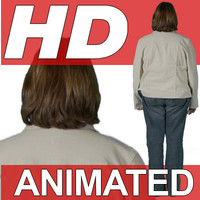 High Definition Animated People Textures - HD Whitney Casual