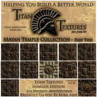 Mayan Temple Collection - Part Two