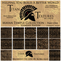 Mayan Temple Collection - Part One