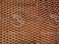 Rusted Expanded Metal