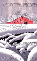 Winter Barn Scene / S-004