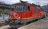 SBB RE-III LOCO AT INTERLAKEN A