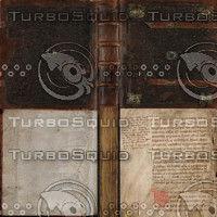 Brass book texture