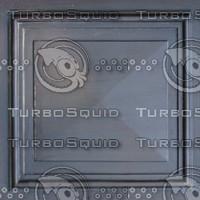 Bronze panel texture