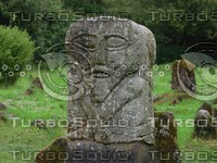 carved irish stone