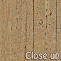 Wood floor warn out