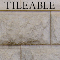 Tileable Stone Block Wall Texture