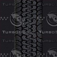 Tire tread and wheel textures