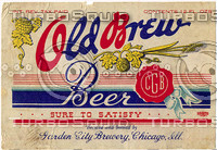 Old Brew Label texture