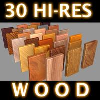 30 High Resolution Wood Textures.zip