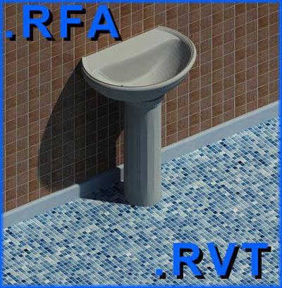 Revit bathroom sink befon for for Sketchup bathroom sink