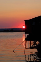 Black Sea Romantic Sunset