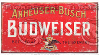 old bud beer label