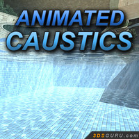 Caustics animated textures