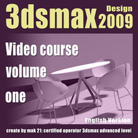 Video Workshop 3dsmax 2009 Design vol.1 english