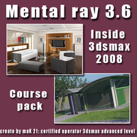 Video Workshop Mental ray 3.6 vol.1and 2 Pack eng