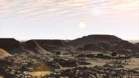 Desert Flyover