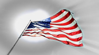 Flag Sun-up