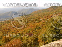 Fall mountains stock photo