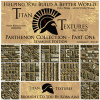 Parthenon Collection - Part One