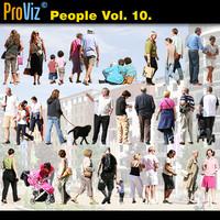 3dRender Pro-Viz People Vol. 10