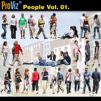 3dRender Pro-Viz People Vol. 01