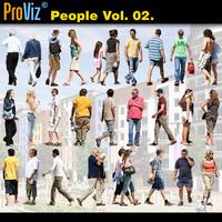 3dRender Pro-Viz People Vol. 02