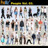 3dRender Pro-Viz People Vol. 03