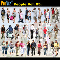 3dRender Pro-Viz People Vol. 05