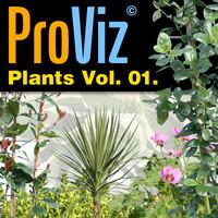 3dRender Pro-Viz Plants Vol. 01