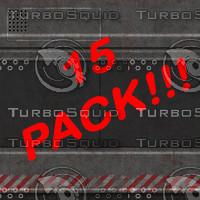Metal Texture Pack (15 Textures)