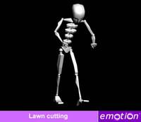emo0006-Lawn cutting