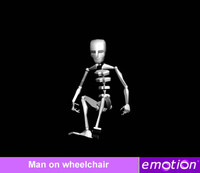 emo0006-Man on wheelchair