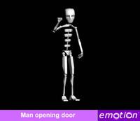 emo0006-Man opening door